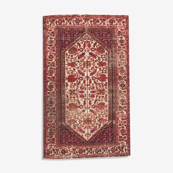 Carpet old persian malayer done hand 124 x 202 cm