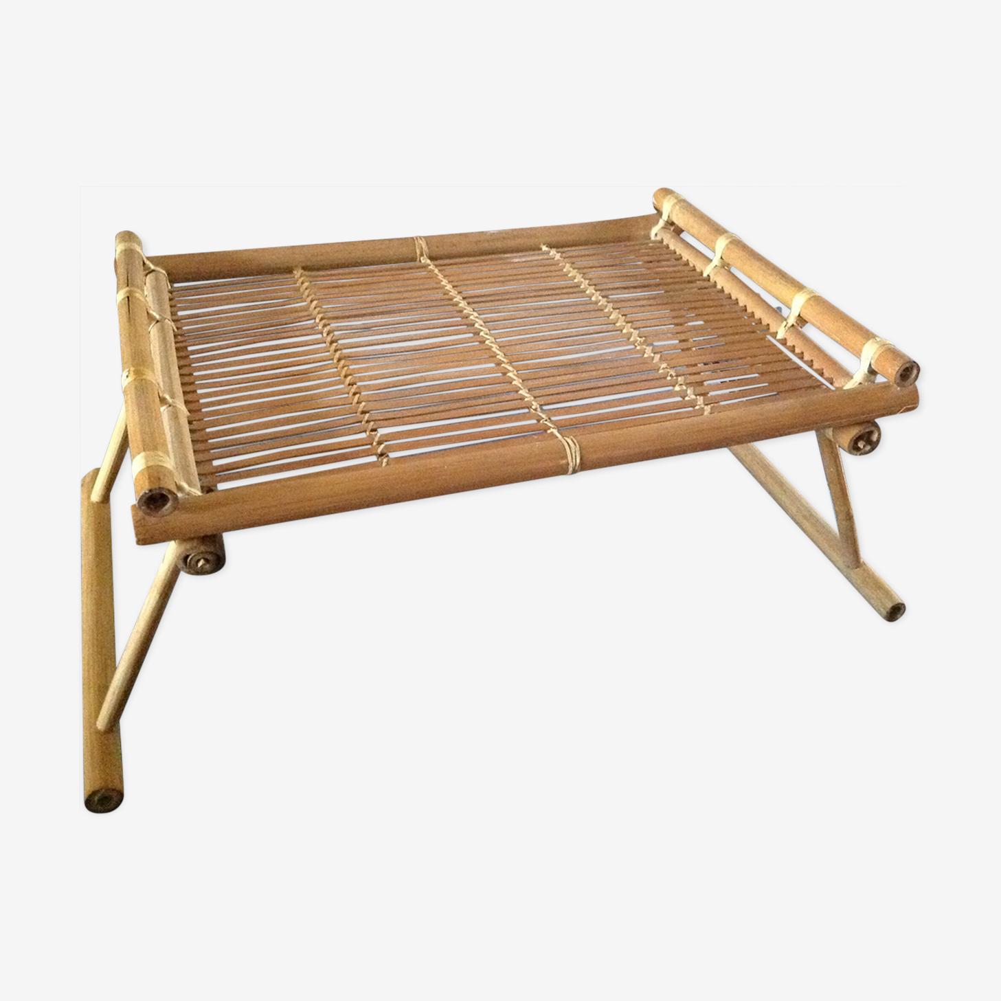 Plateau déjeuner en bambou