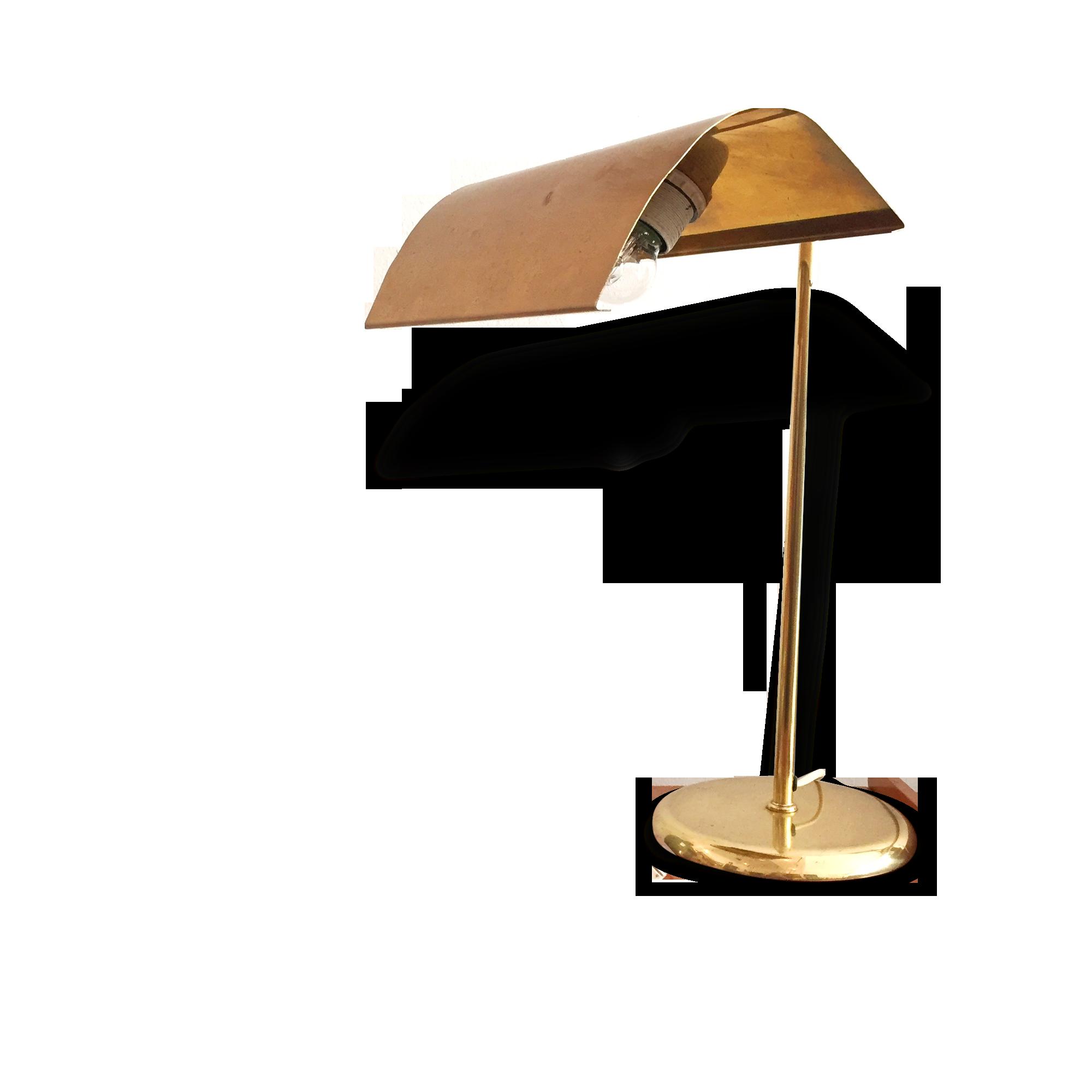 Lampe à poser lampe de bureau en laiton années laiton