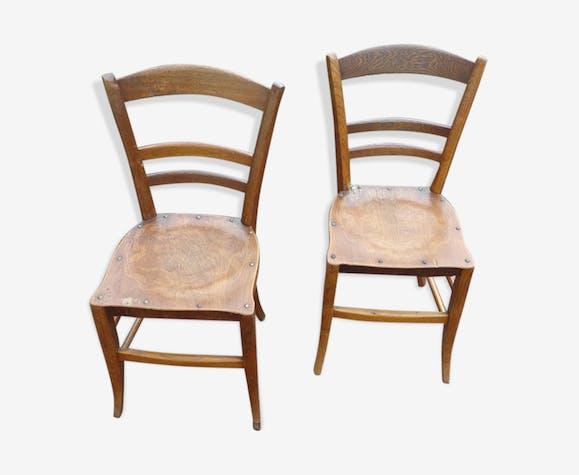 Duo de chaises bistrot Luterma