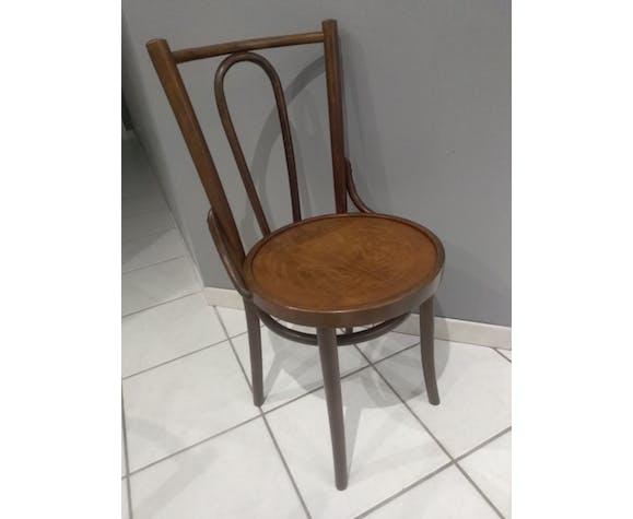 Suite de 4 chaises de bistrot vintage années 1960