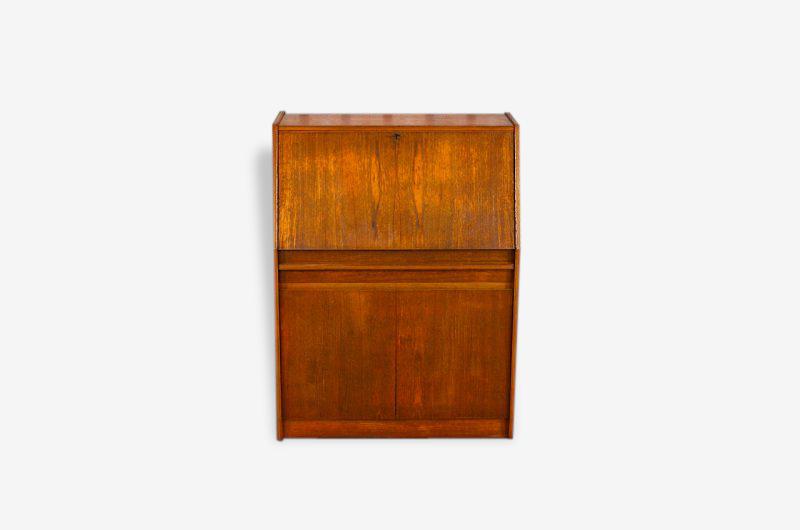 Secrétaire Teck Design Scandinave 1960 / 1970