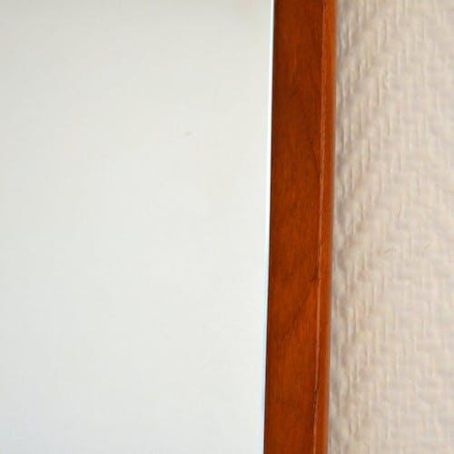 Miroir scandinave années 60 teck