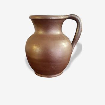 Small stoneware pitcher