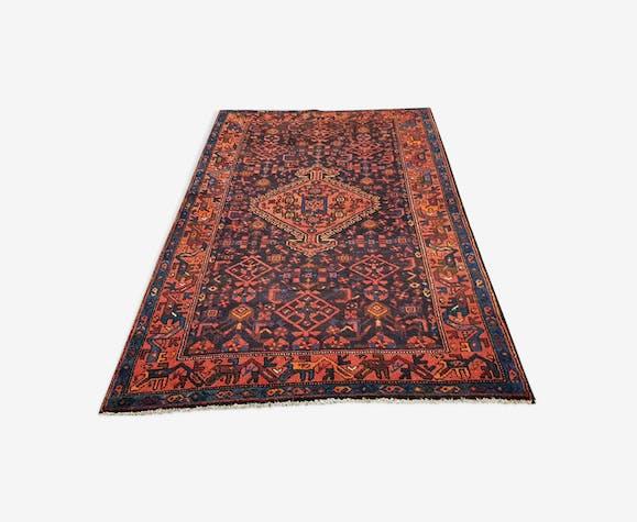 Produit Bhv Tapis Malayer Iran Vers 1960 Laine Coton