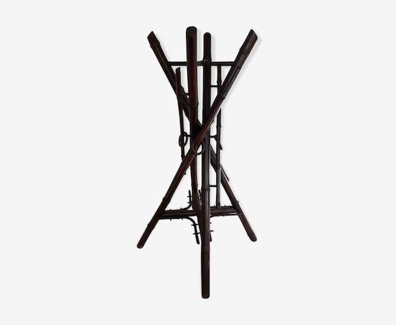 Porte plante en bambou
