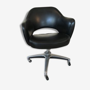 Executive conference vintage by Eero Saarinen Chair / Knoll International, model Swivel 71 S, 1950