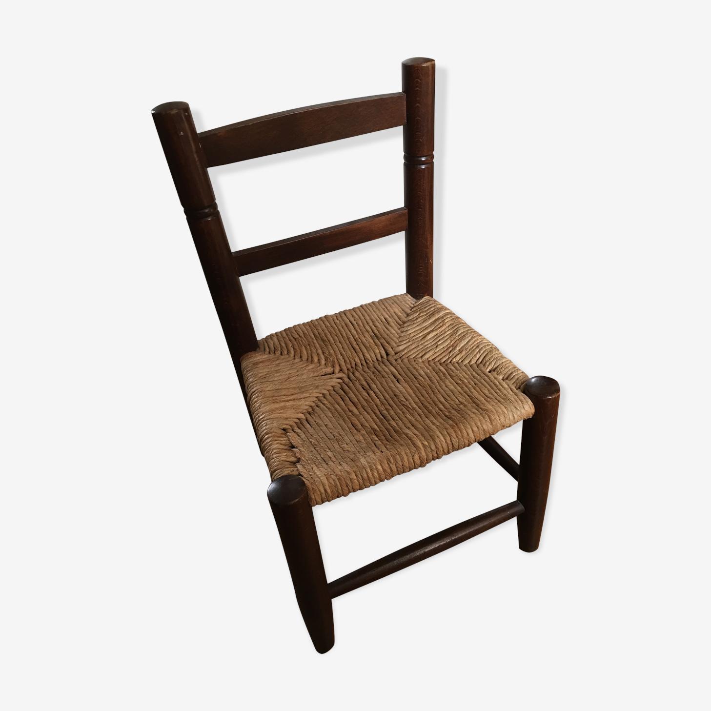Chaise rustique
