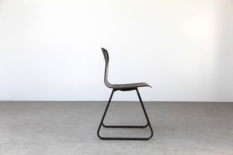 Galvanitas s23 ebony chair, black - reissue