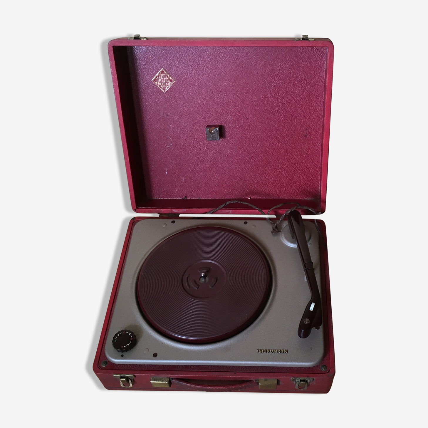 Platine vinyle valise Telefunken