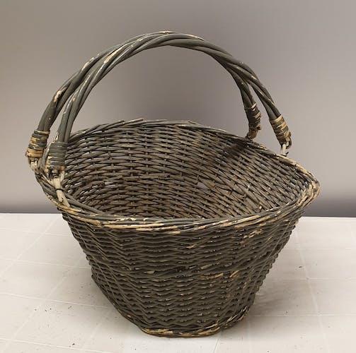 Ancient wicker basket