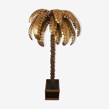 Lampadaire palmier simple années 70