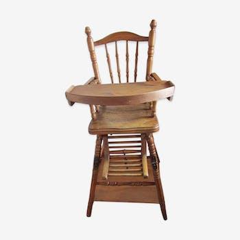 Chair high child beginning 20th century