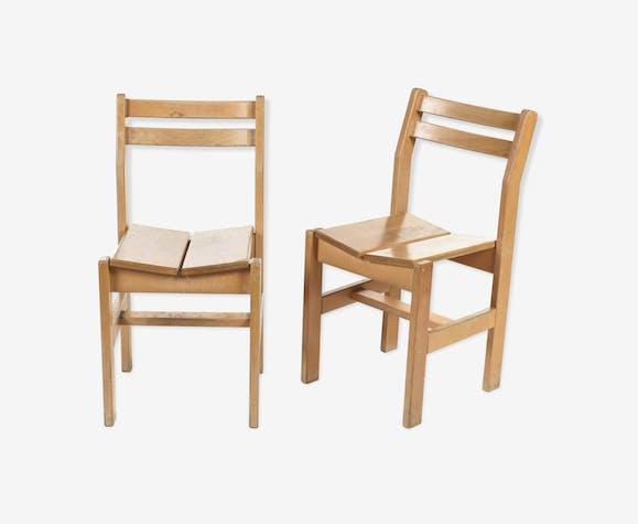Paire de chaise les Arcs, circa 1970