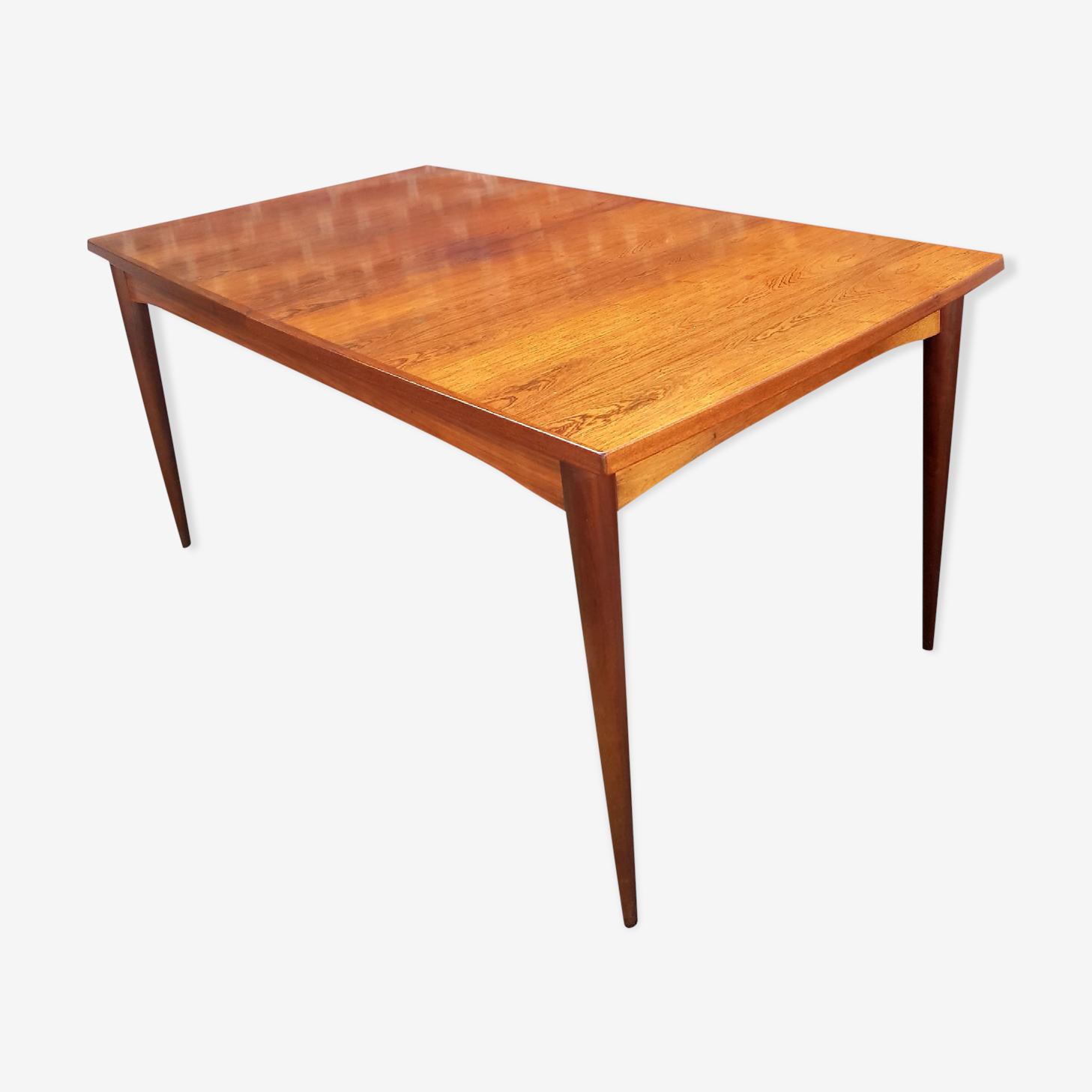 Table en teck scandinave circa 1960
