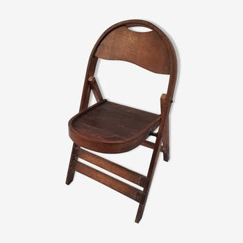 Old burmese teak chair