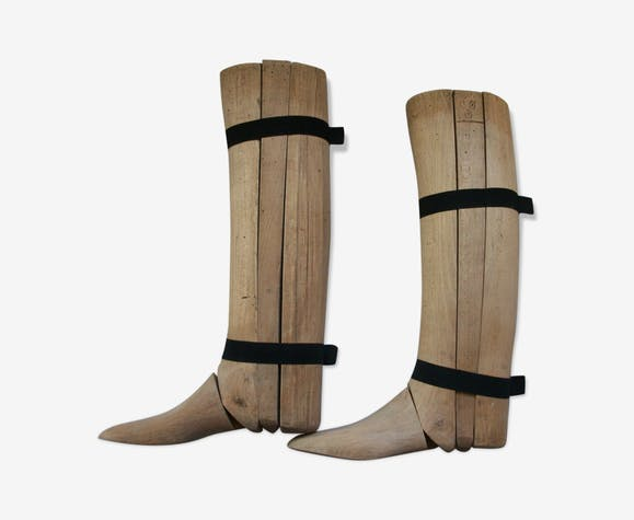 Embauchoirs for cavalerie 19 eme bottes