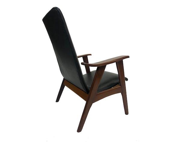 Teak Fauteuil Louis van Teeffelen Wébé 1960s | Vintage Design