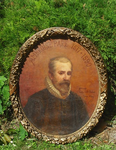 Portrait Ambroise Paré par Georges  Saint Lanne