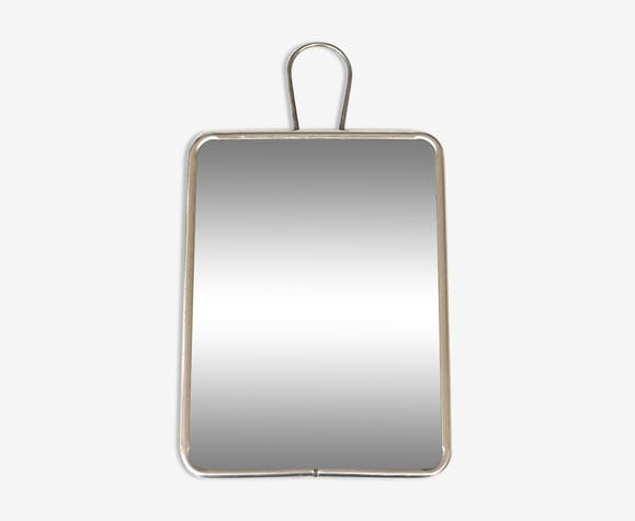 Mirror of Barber to ask or hang, 50 years 20x15cm