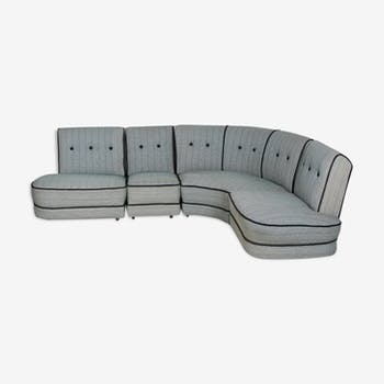 Vintage Denmark corner sofa