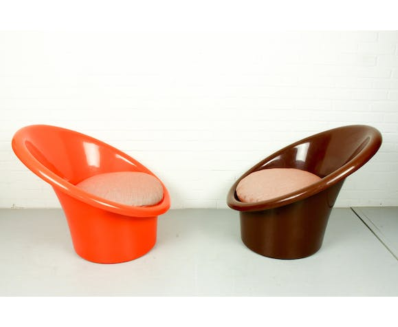 For sale: 2 x Skopa lounge chair by Ole