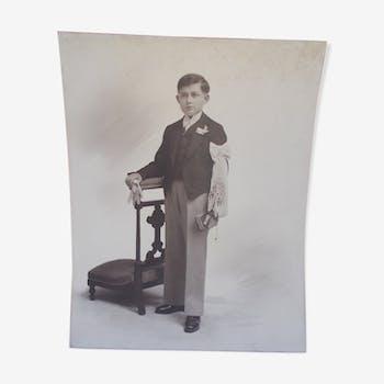 Old photo of communicator