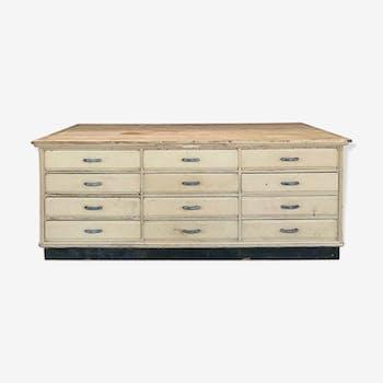 24-drawer craft furniture