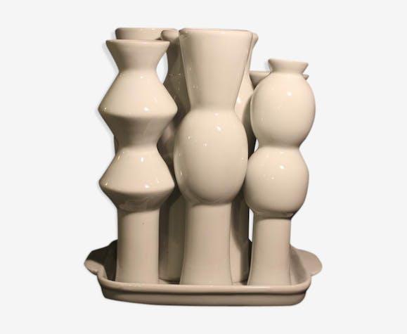 Groupe de vases en céramique