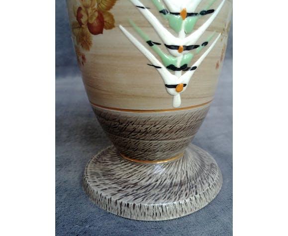 Vase en grès signé par l'artiste Waillault