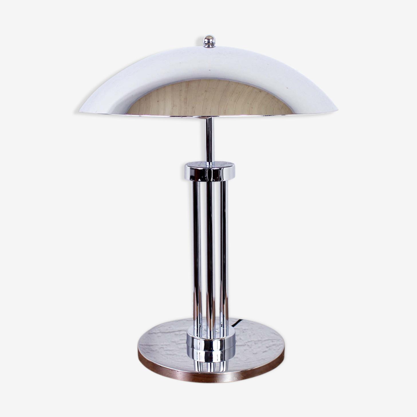 """Lampe """"champignon"""" en métal"""