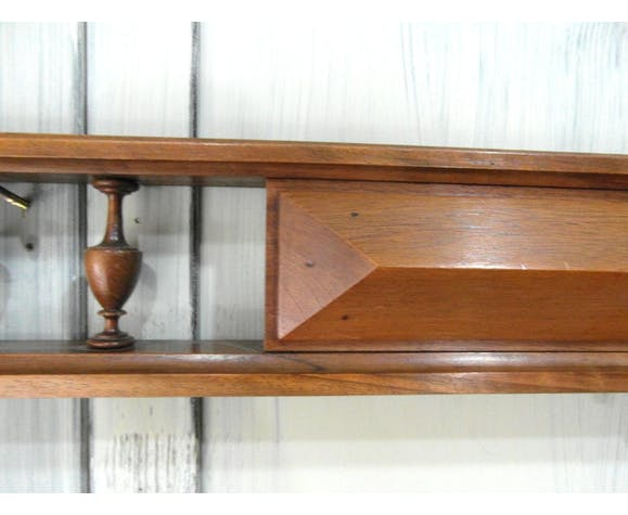 Wooden pediment