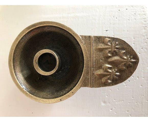 Bronze cellar candlestick