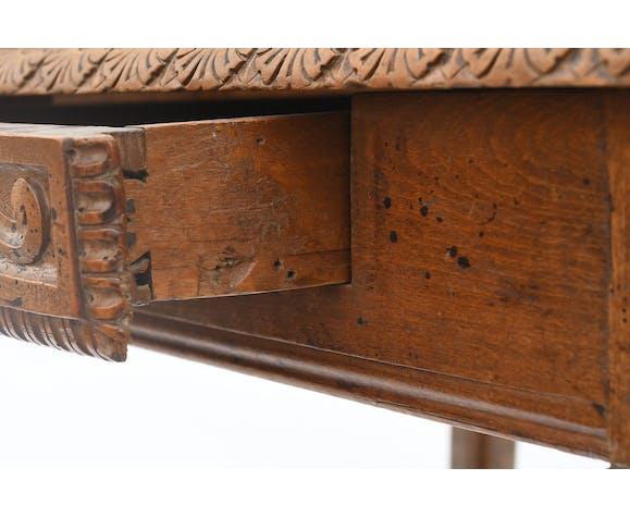 Bureau en bois naturel