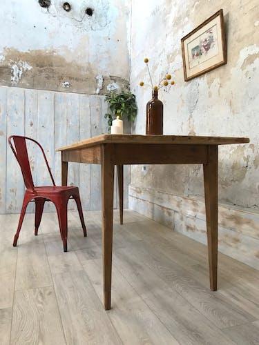 Vintage farm table