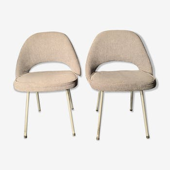 Pair of conference chair by Eero Saarinen for Knoll