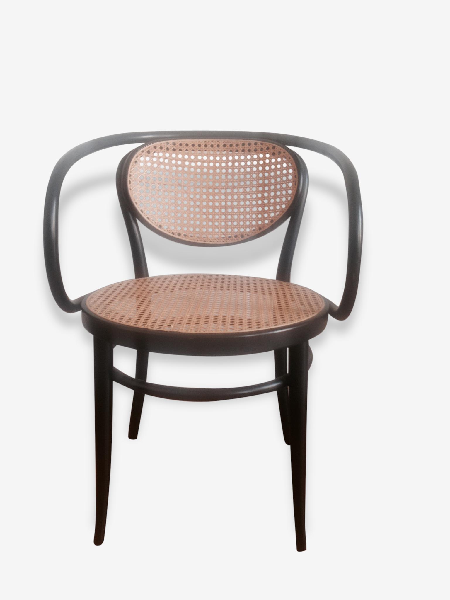 Paire de chaises Thonet 210 R