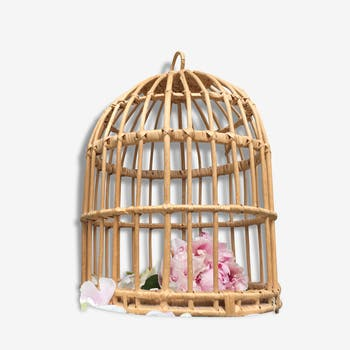 Deco cage Wicker