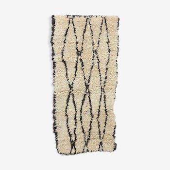 Azilal moroccan rug, 83 x 173 cm