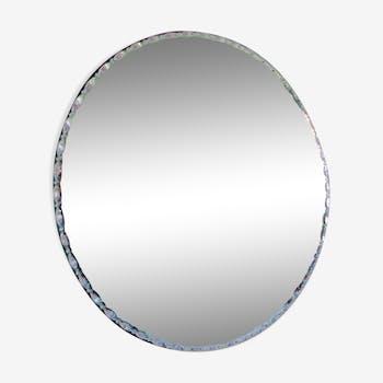 Round mirror 50s  - 60cm