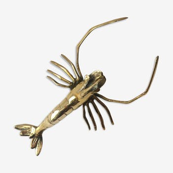 Brass lobster from the 70s