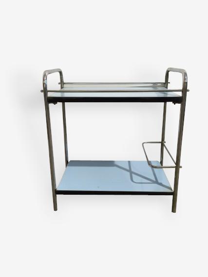 Table bar formica bleu