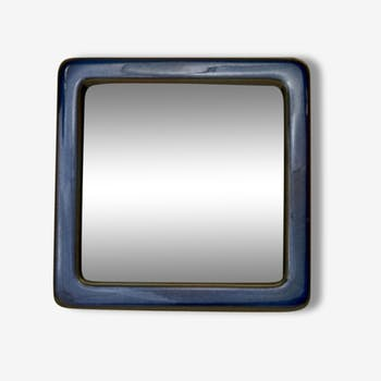 """Lagun"" Sven Jonson, Gustavsberg ceramic mirror, 25x25"