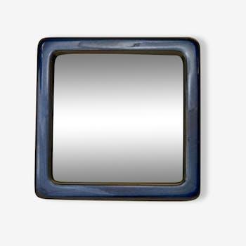 "miroir en céramique ""Lagun"" Sven Jonson, Gustavsberg Suède"