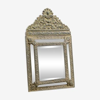 Napoleon bevelled mirror 3 period multifaceted