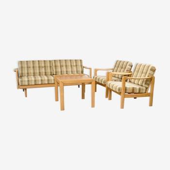 salon complet style scandinave 3 2 1 chinez. Black Bedroom Furniture Sets. Home Design Ideas