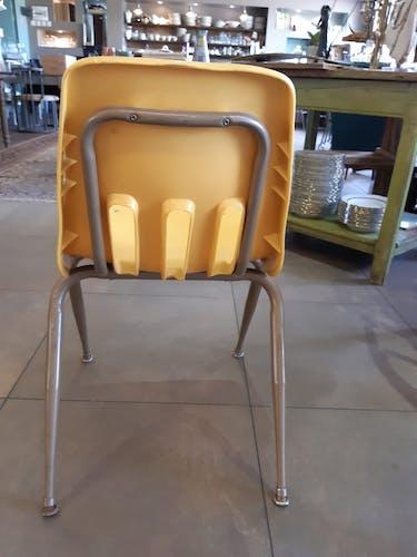 4 chaises de jardin années 70