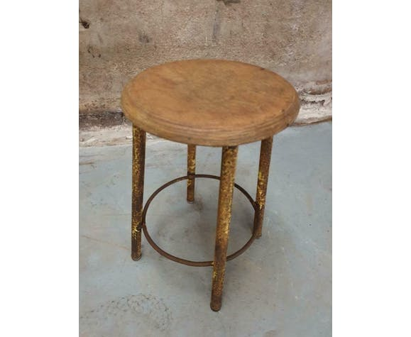 Industrial school stool Belgian stool