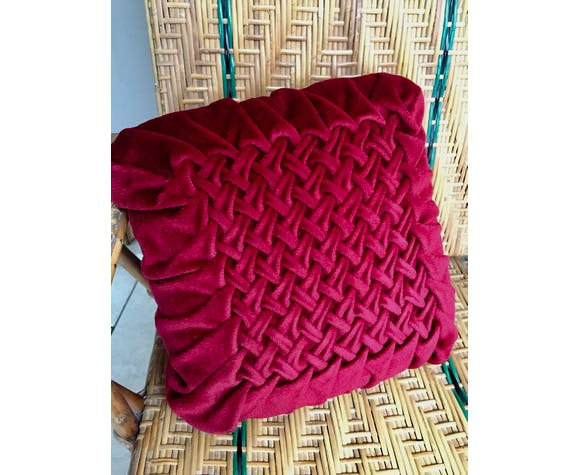 Vintage velvet cushion