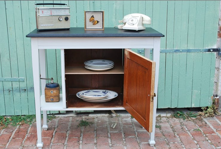 Renovated vintage buffet